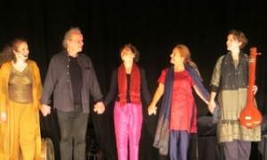 Les Nuits de Shéhérazade Teresa Amoon, Bruno de la Salle, Solange Boulanger, Anne-Gaël Gauduchau, Aimée de la Salle