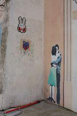 Nancy mur  trompe l'oeil et grafitti 1 oct 2013 red
