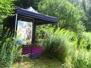 88 PLOMBIERES Fête des Jardins en terrasses L'abri red 2014 08 03