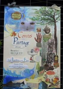 88 PLOMBIERES Fête des Jardins en terrasses Mon enseigne red 2014 08 03