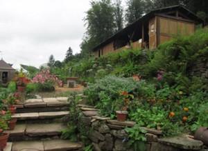 88 PLOMBIERES Fête des Jardins en terrasses Vue des jardins 1red 2014 08 03
