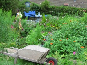 88 PLOMBIERES Fête des Jardins en terrasses Vue des jardins 3red 2014 08 03