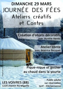 JOURNEE DES FEES flyer recto
